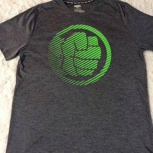 Marvel Hero Elite Series Hulk Fist Shirt Size XL